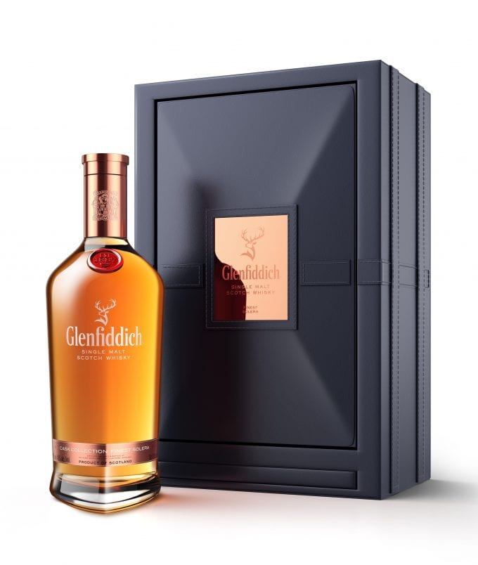 Glenfiddich reveals duty-free exclusive Cask Collection Finest Solera in Baccarat decanter