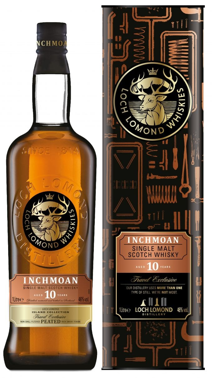 Loch Lomond Whisky unveils new & exclusive to duty-free Inchmoan Single Malt