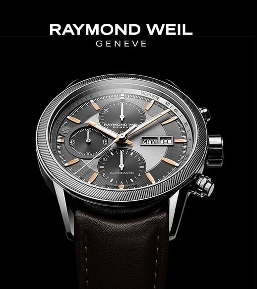 Raymond Weil unveils a new edition of its freelancer chronograph