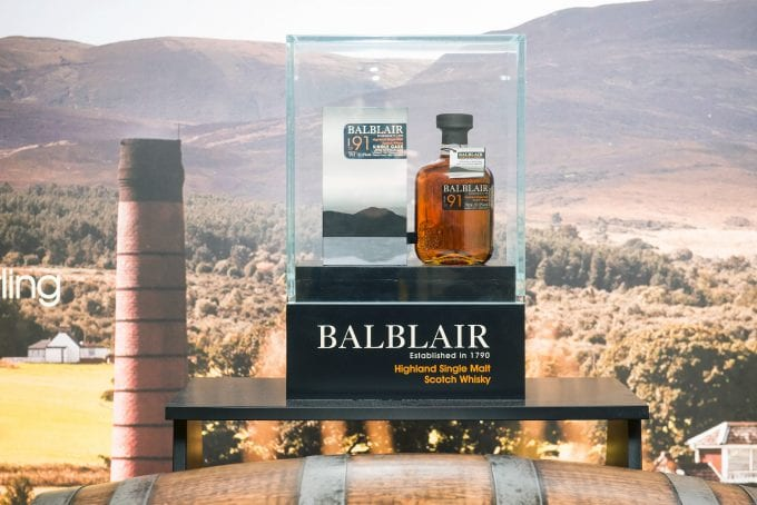 Balblair launches airport exclusive Single Malt at Glasgow Airport's World Duty Free
