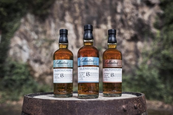 Ballantine's reveals Single Malt Series collection of outstanding 15 Years Old whiskies