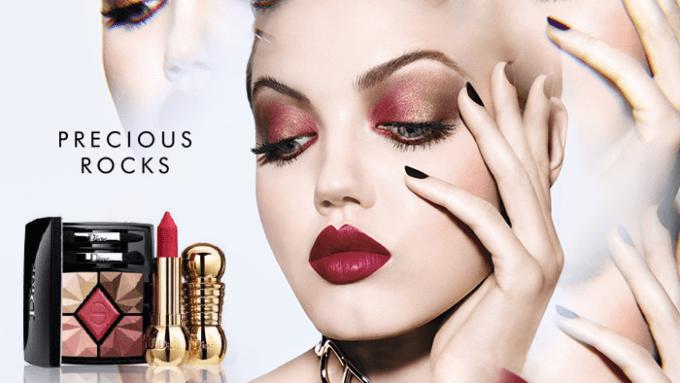 Dior launches Precious Rocks festive beauty collection