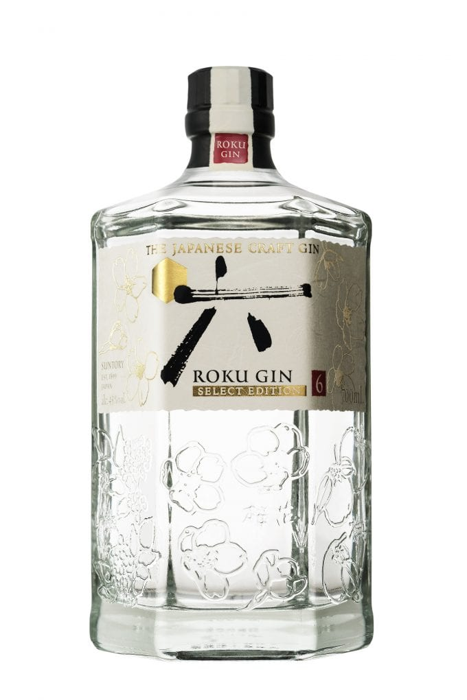 Japanese craft gin Roku Select Edition makes duty-free debut