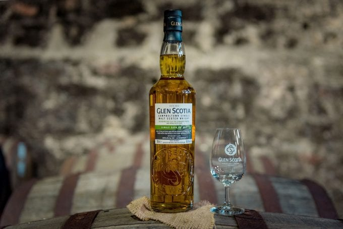 Limited edition Glen Scotia Single Cask takes flight withWorld Duty Free at Edinburgh Airport
