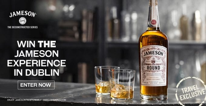 WIN a trip to Dublin with Jameson & World Duty Free