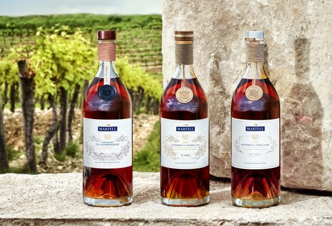 Martell unveils a trio of limited edition XO Single Estate Collection cognacs