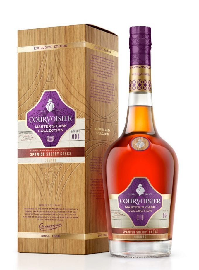 Courvoisier unveils 'revolutionary' Sherry Cask Finish cognac in duty-free