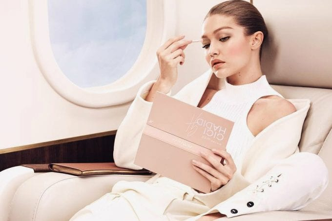 Calling all Jetsetters! Gigi Hadid's Maybelline collection has landed