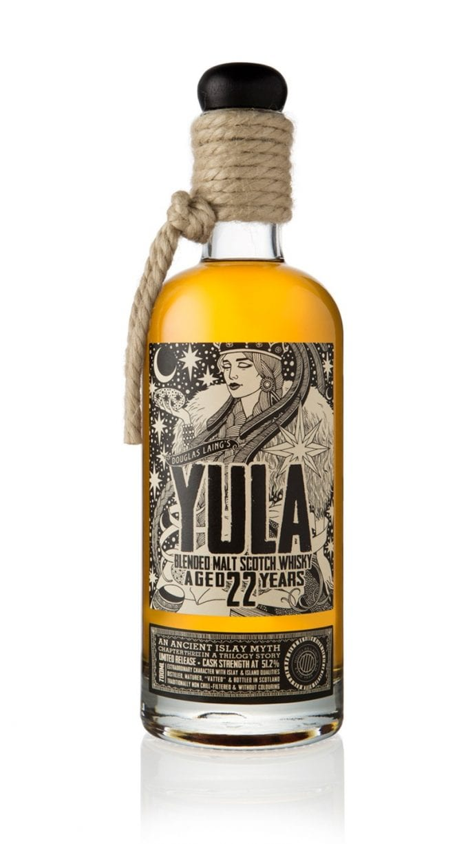 Douglas Laing unveils Yula III – final instalment in a trilogy of limited edition Island Malt Scotch Whiskies