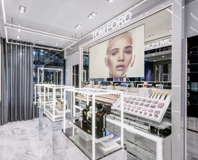 Tom Ford Beauty opens first store in London