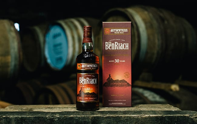 """BenRiach releases Authenticus """"rare"""" 30-year-old peated single malt whisky"""