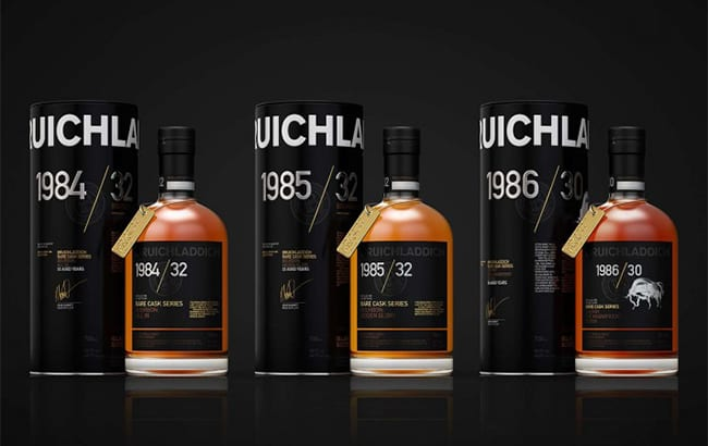 Bruichladdich releases 'last of their kind' 1980s Islay malt whiskies