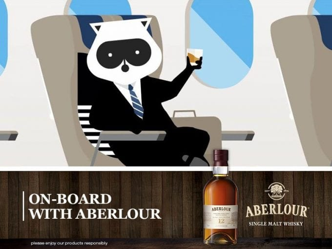 Winter warmer! Aberlour Scotch Whisky flies high with Porter Airlines