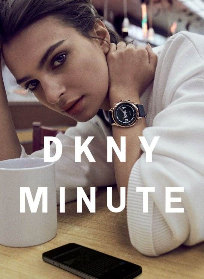 DKNY launches its first-ever Smartwatch DKNY MINUTE
