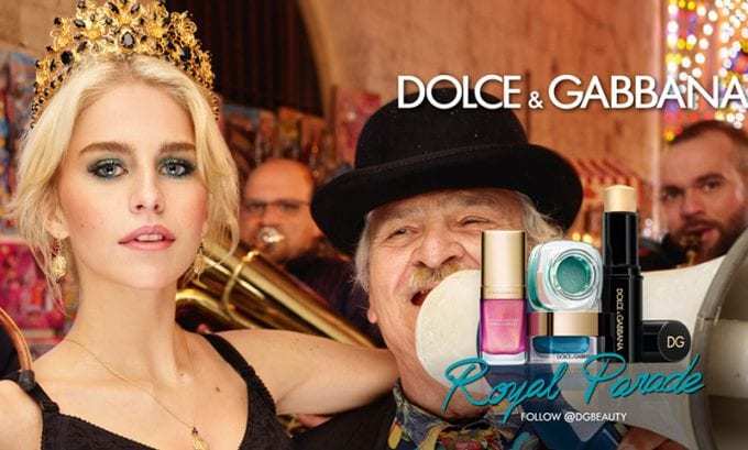 Dolce&Gabbana dances into the holidays with Royal Parade make up collection