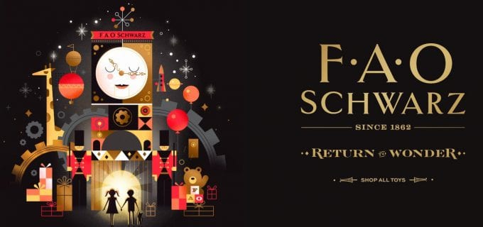 FAO Schwarz comes to duty-free at airports this Christmas with DFS Group