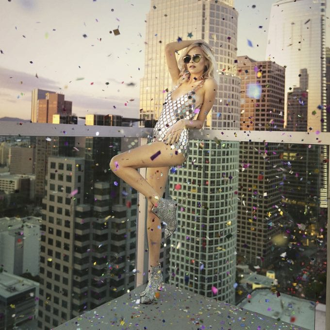 Jimmy Choo hits the disco with Cara Delevingne