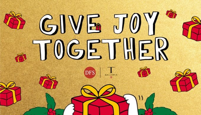 DFS unveils its 'Give Joy Together' holiday campaign for travellers
