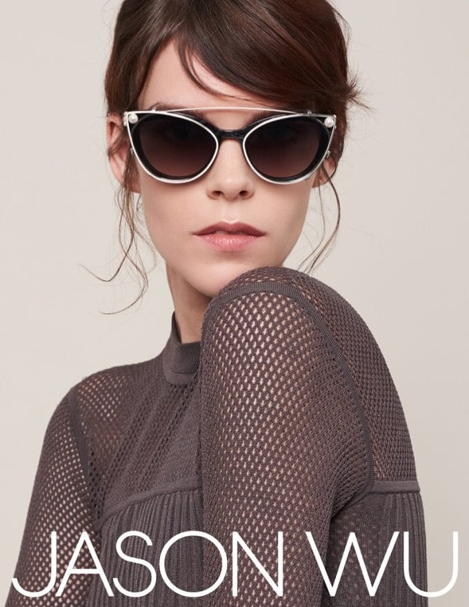 Jason Wu Eyewear has model Meghan Collison looking good