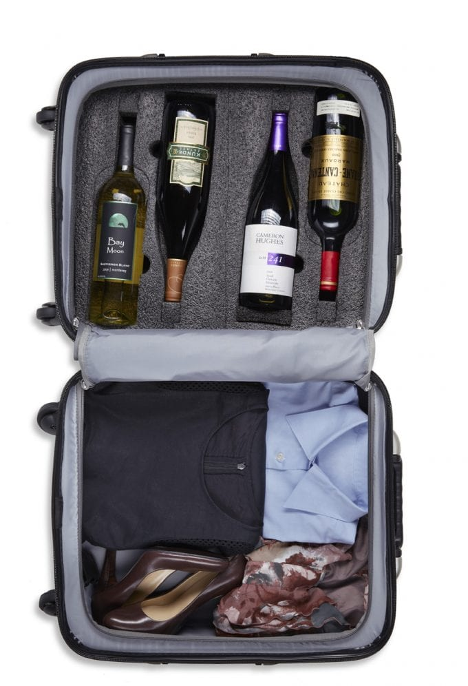 Dubai Airport's Le Clos exclusively launches Wine Suitcase, VinGardeValise