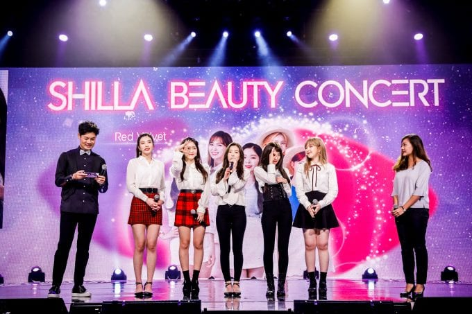 Shilla Duty Free wows fans with Beauty Concert starring Red Velvet, SHINee, Eddy Kim