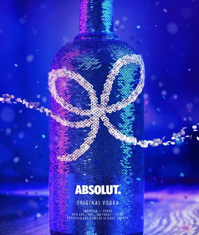 Absolut ups the sparkle level in duty-free with limited edition Holiday bottle