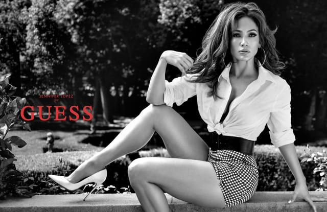 Jennifer Lopez is the new Guess girl
