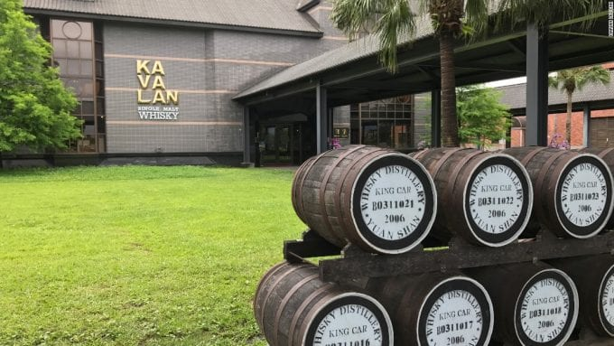 Kavalan crowned Global 'Distiller of the Year' by International Wine and Spirit Competition