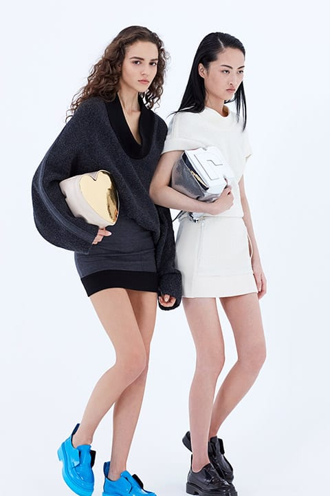Paco Rabanne parades the new Pouch bags serie