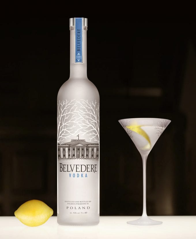 Belvedere Vodka launches the Official Belvedere 007 Martini