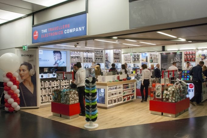 Capi opens electronic and gadgets store at Vienna Airport