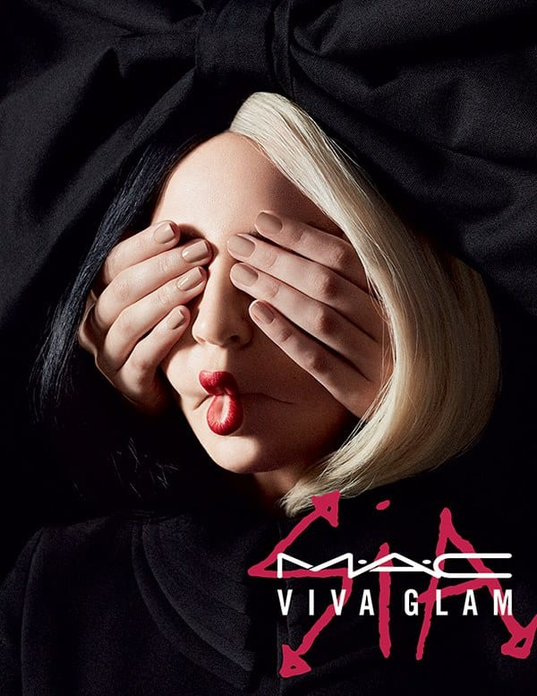 FIRST LOOK: MAC unveils the VIVA GLAM Sia lipstick for 2018