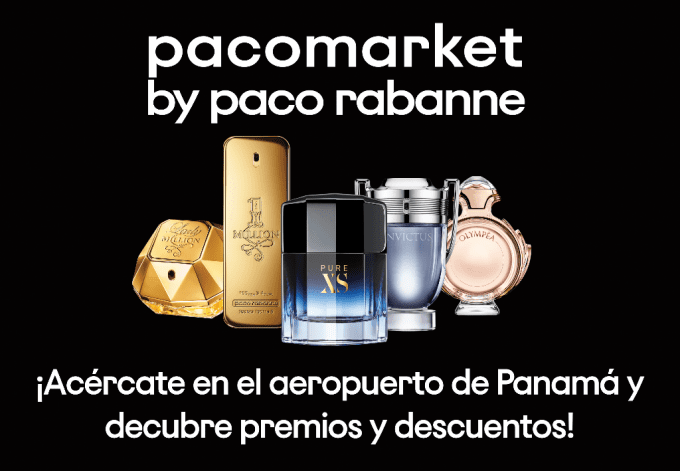Paco Rabanne just opened a 'pacomarket' pop-up at Panama Tocumen airport