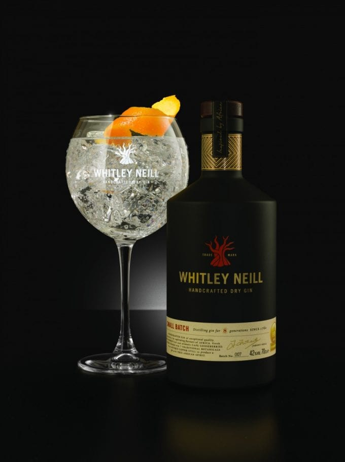 Whitley Neill Gin stars at 17 airports with Heinemann Duty Free