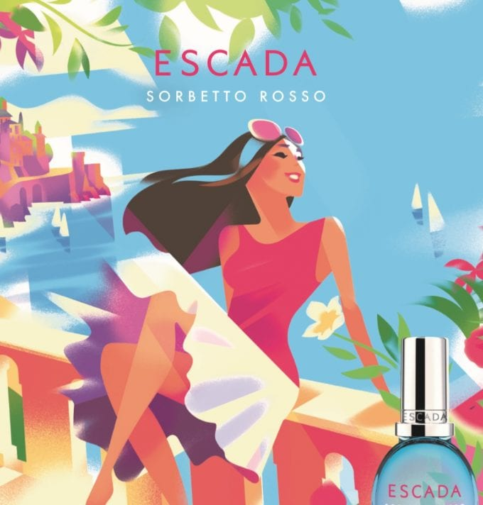 Escada reveals 2018 Summer fragrances with debutant Sorbetto Rosso