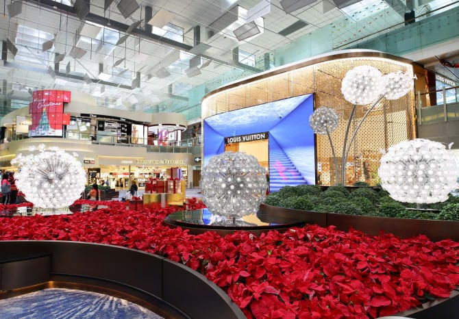 Singapore Changi Airport unveils stunning Louis Vuitton duplex store at heart of T3