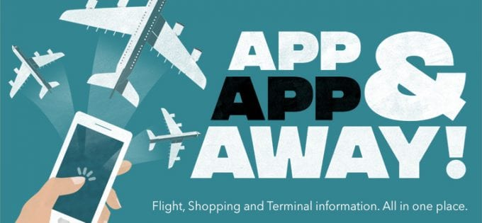 App, App and Away – London Gatwick launches new app with flight info, maps and shopping deals