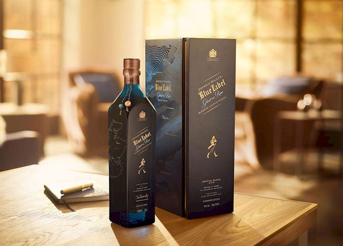 Johnnie Walker unveils Blue Label Ghost and Rare limited editions based on whiskies from lost distilleries
