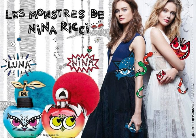 Free the Monster! Nina Ricci unleashes new limited edition Les Belles de Nina fragrances