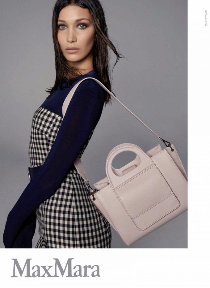 Bella Hadid fronts Max Mara Spring 2018 accessories campaign