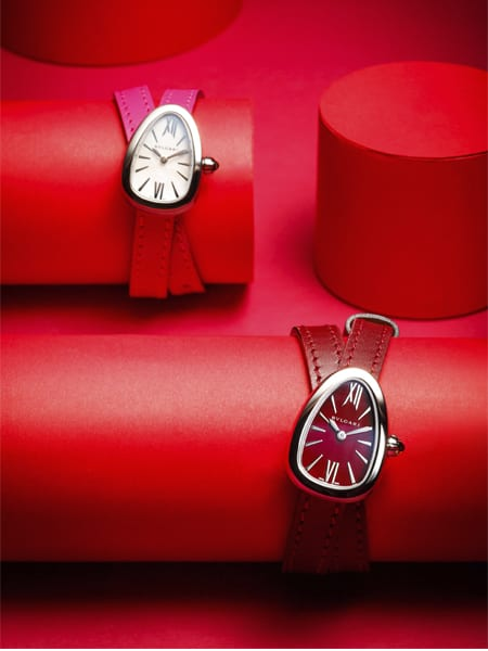 DFS launches exclusive new Bulgari Serpenti Passion Red collection