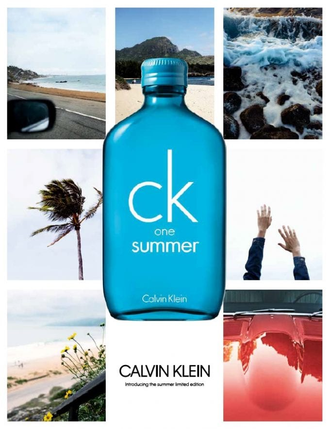 Calvin Klein brings Summer to duty-free with ck one special edition
