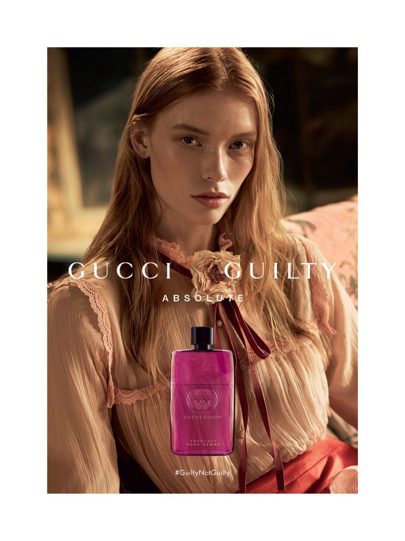 First Look Gucci Launches Gucci Guilty Absolute Pour