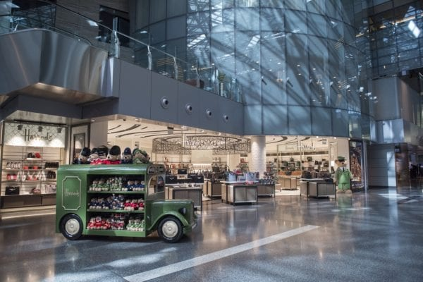 Qatar Duty Free opens second Harrods store at Doha's Hamad International Airport