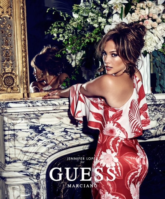 Jennifer Lopez turns up the heat in GUESS' Spring-Summer campaign