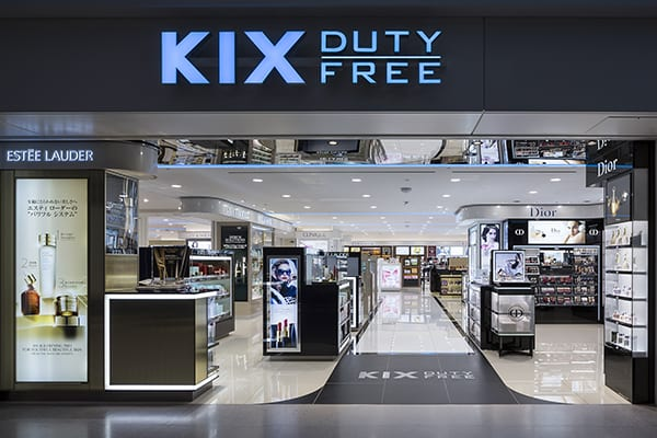 Osaka Kansai Airport welcomes arrivals duty-free shopping at KIX