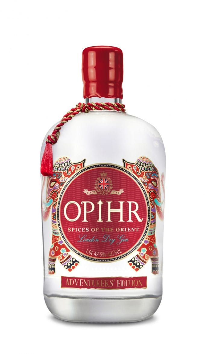Opihr Adventurers' Edition Gin set for duty-free exclusive launch