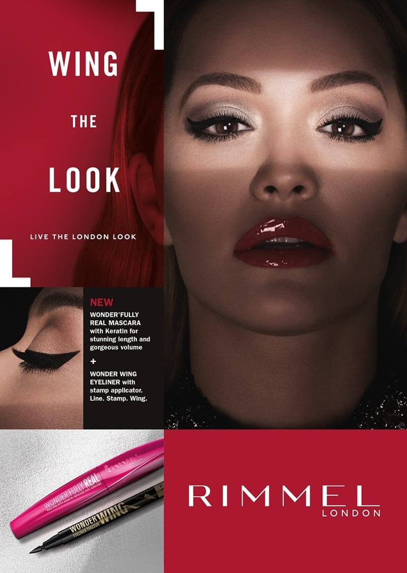 Rita Ora owns the London Look in Rimmel's new makeup