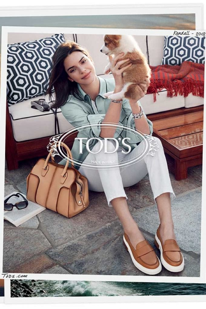 Tod's casts Kendall Jenner & ballet star Roberto Bolle in sun-kissed ads