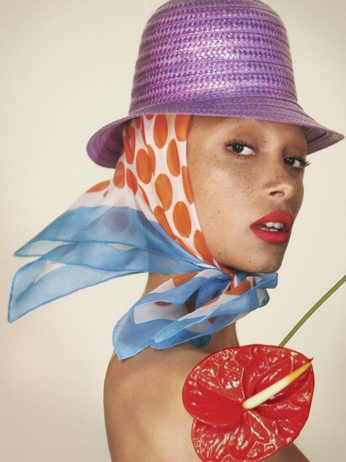 Adwoa Aboah is Marc Jacobs' new beauty muse